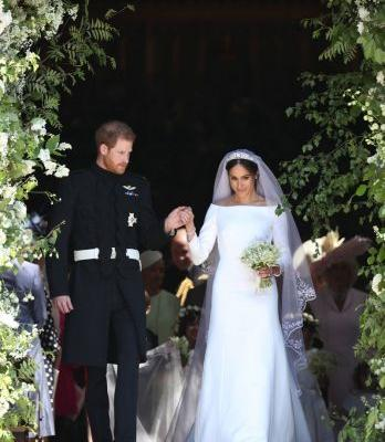 Buh-Bye Lace Gowns, Meghan Just Changed Wedding Dress Trends Forever