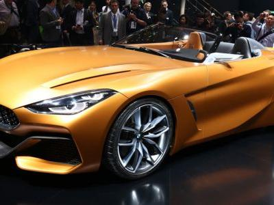 BMW's Shark-Nosed Z4 Roadster Concept: Beauty Or A Beast?