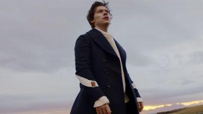 Watch Harry Styles Ruin a Pair of Gucci Boots in His New 'Sign of the Times' Music Video