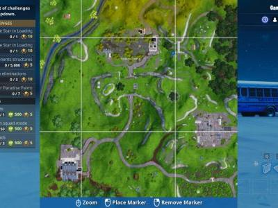 Fortnite Challenge: Search Between Giant Rock Man, Crowned Tomato, And Encircled Tree Location
