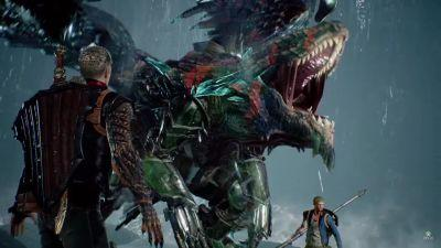 Scalebound gently wiped from the face of the Earth - or at least all Microsoft channels, anyway