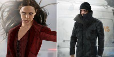 Captain America: Civil War Concept Art: Alternate Scarlet Witch & Winter Soldier Designs
