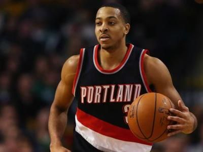Blazers' C.J. McCollum suspended for leaving bench during altercation