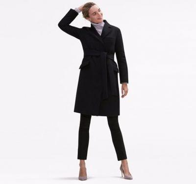 This tailored trench coat is as warm as a ski jacket - and it's perfect for professional women