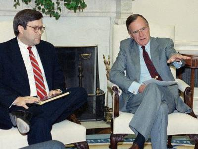 Trump is reportedly looking to nominate George H.W. Bush's former attorney general to head up the Justice Department