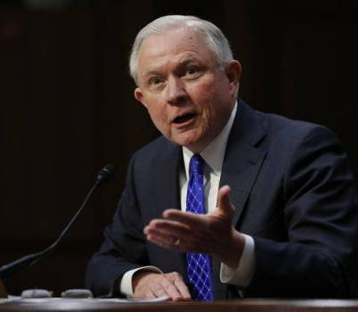 The Latest: Sessions mum on citizenship, terrorism tie