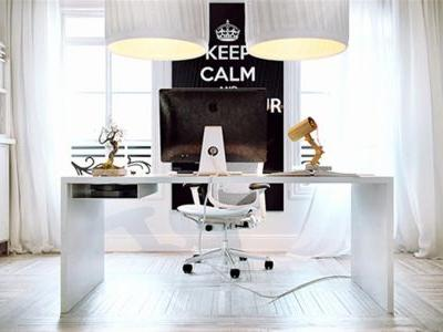 30 Inspirational White Home Office Desk Pictures