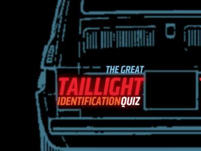 It's Time For Another Taillight Quiz!