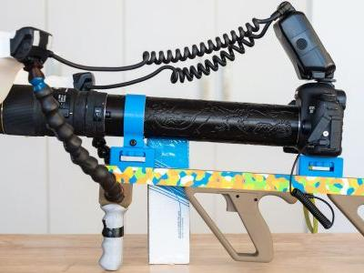 This Guy Created a Custom 'Rifle-Style Grip' for His Crazy 5x Macro Rig