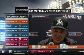 Don Mattingly would like to see Stanton breaks his own HR streak