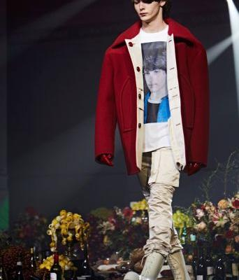 Last night's Raf Simons show was all about drugs