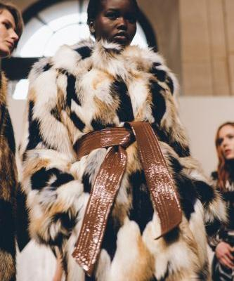 Givenchy channels film noir vibes for AW18