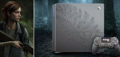The Last of Us Part II console is engraved with Ellie's new tattoo