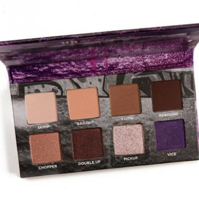 Urban Decay On the Run Mini Eyeshadow Palettes Swatches