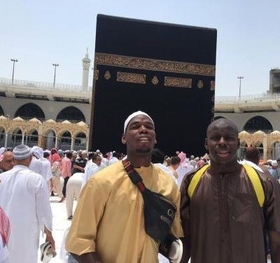 Manchester United star Pogba travels to Mecca to perform umrah pilgrimage
