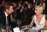 Will We Ever Know What Bradley Cooper Told Lady Gaga at the SAG Awards? We'll Sure Try!