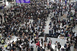 Hong Kong International Airport posts biggest monthly drop in travellers since 2009