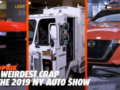Here's Some of the Weirdest Stuff You'll Find at the New York Auto Show