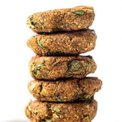 Butternut Squash & Lentil Patties