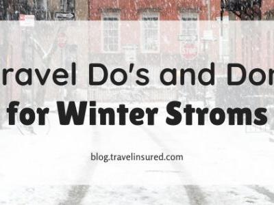 8 Travel Do's and Don'ts for Winter Storms