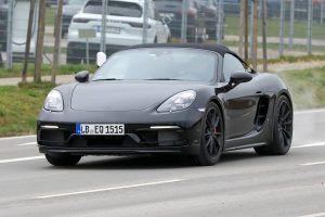 Porsche 718 Boxster Spyder To Use 4.0-Litre 911 GT3 Engine
