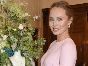 Fans Are Amazed As Laura Haddock Debuts Blossoming Baby Bump