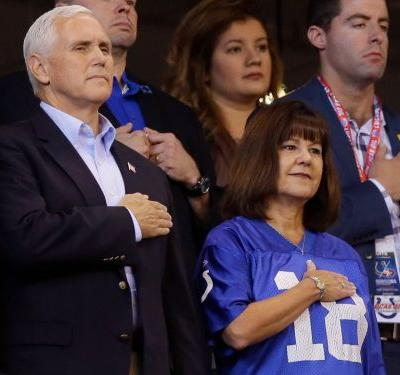 Mike Pence's early exit from an NFL game is starting to look more and more like a political stunt