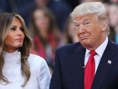 You Guys, Donald Trump Just Threw a Soccer Ball at Melania and Twitter Is Having a Field Day