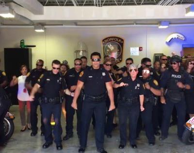 Police pop stars: Officers around nation challenge each other to Lip Sync Battle
