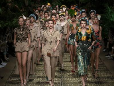 Dolce & Gabbana Evokes the Jungle for Its Spring 2020 Collection