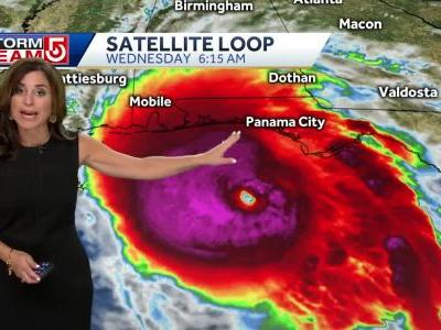 Hurricane Michael now Category 4 storm