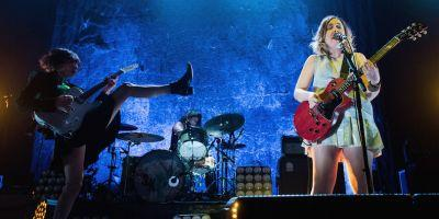 Watch Sleater-Kinney Cover CCR With Planned Parenthood President After Women's March