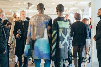 Here's What Went down Backstage at OFF-WHITE's 2017 Fall/Winter Collection Presentation