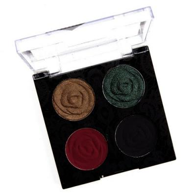 Wet 'n' Wild House of Thorns Color Icon Eyeshadow Quad Review & Swatches