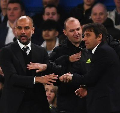 It's not easy to compete with Man City and United in the transfer market, admits Conte