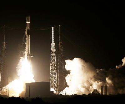 Israel's first moon lander launches on SpaceX rocket