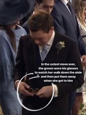 Jack Brooksbank Put On Glasses To See Princess Eugenie Walk Down The Aisle & I'm Sobbing