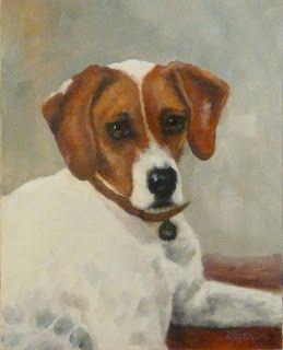 Untitled Portrait Oil Dog Painting Pet Art Animal Commission Portrait