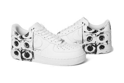 Supreme x COMME des GARÇONS SHIRT x Nike Air Force 1 Low Is Dropping This Week