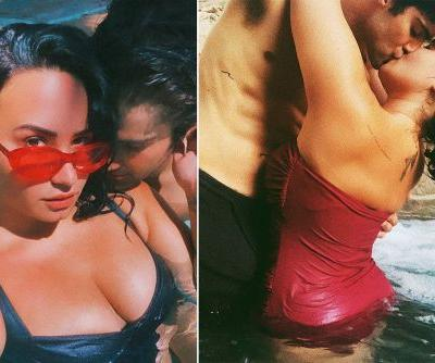 A look at Demi Lovato and Max Ehrich's whirlwind romance