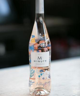 A Beautiful Rosé Bottle Fit for a Party or a Present