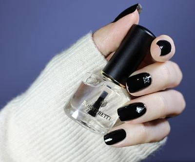 Perfect Black Nail Lacquer?   Basic Black Review & Swatches
