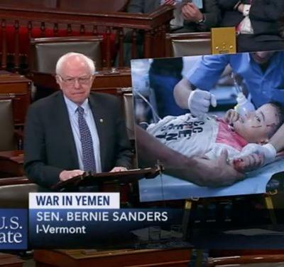 Senate votes in favor of a key resolution to end US support of Saudi Arabia in Yemen
