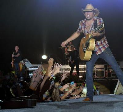 Jason Aldean, Jake Owen and Luke Combs, Sunday's artists at the Route 91 Harvest festival