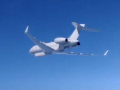 Russian fighter jets intercepted a British spy plane over the Black Sea while US bombers were in the same area