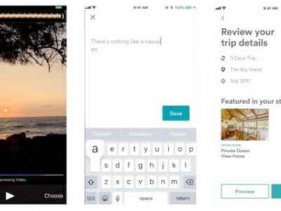 Airbnb Testing Snapchat-Like Stories For Its Users