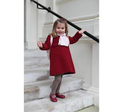The Pics of Princess Charlotte on Her First Day of School Will Melt Your Heart