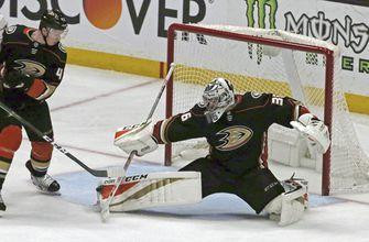 Ducks lock up goalie John Gibson with 8-year contract extension