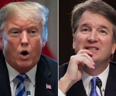 Trump stands by Kavanaugh amid sexual assault allegations