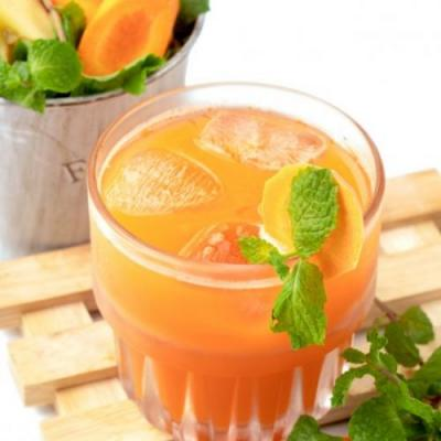 Carrot Apple Ginger Juice Recipe